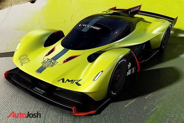 See the Mind-Bending Aston Martin Valkyrie AMR Pro