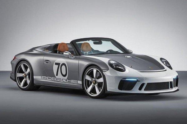 New Porsche 911 speedster