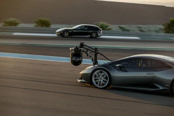 Lamborghini HuraCAM Is The World's Fastest Camera Car With A Top Speed Of 125mph