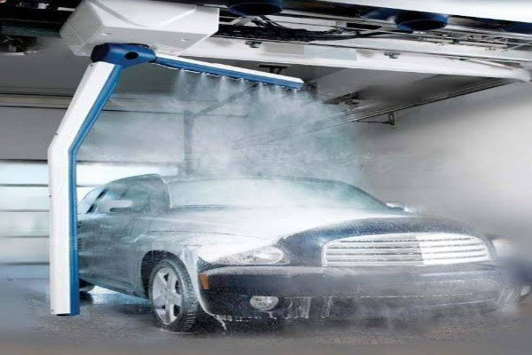Is This The Most Advanced Car Washing Machine Ever? See This Self-washing