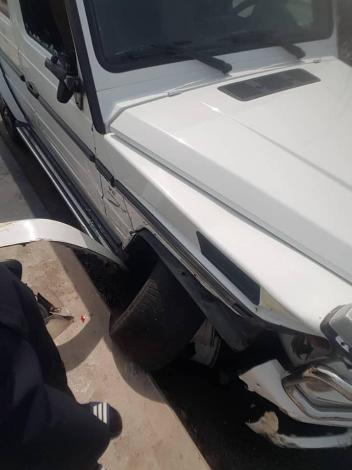 fayose ayodele accident scene