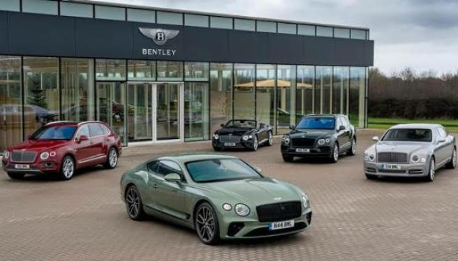 Bentley's 2021 first half Profits exceeds any full year in the luxury brand 102 year history