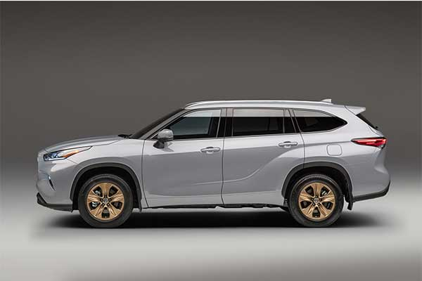 Toyota Launches Bronze Edition Highlander Hybrid With Bronze Wheels And Other Extras