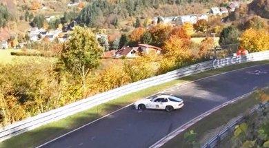 Nürburgring crashes