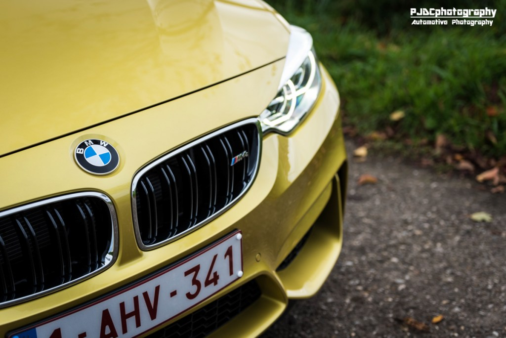 BMW M4 Austin Yellow