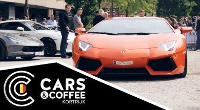cars & coffee kortrijk