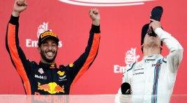 Ricciardo wint knotsgekke GP van Azerbeidzjan, Stoffel rijdt zijn beste resultaat