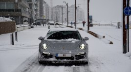 Porsche 911 Turbo S in Winterwonderland