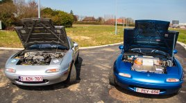 Projectcars: Mazda MX-5 NA plug-in EV