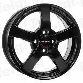DEZENT RE 6,5X16 5X105 ET38 DIA56,6 BLACK MATT