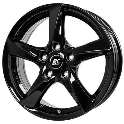 RC-Design RC30 6,5X16 4X100 ET48 DIA63,4 SG schwarz lackiert