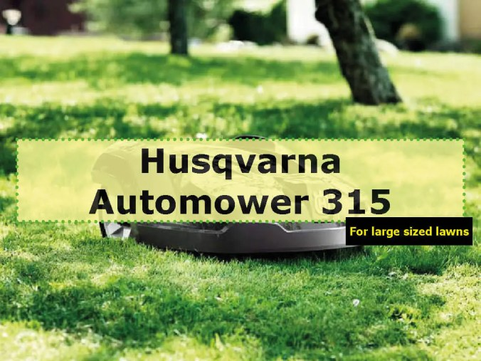 Husqvarna Automower 315 photo