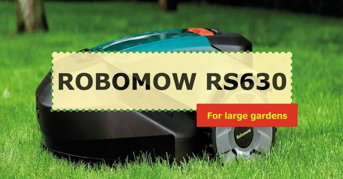 Robomow RS630 photo