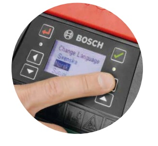 Safety feature PIN Bosch Indego