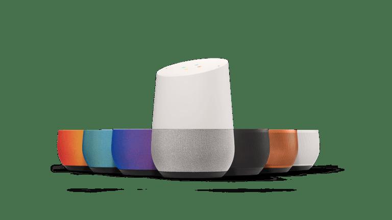Google Home options