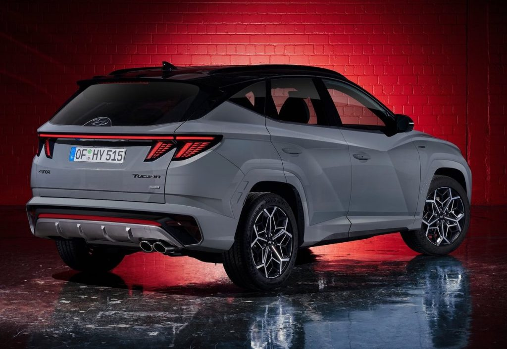 hyundai tucson n line unveiled for the