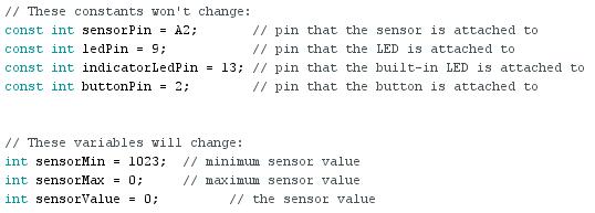 Découverte des exemples arduino
