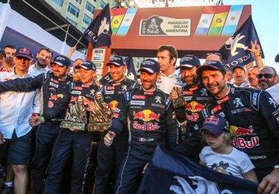 Sunderland gana en motos y Peterhansel su Dakar 13