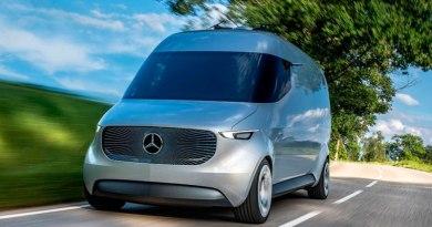 Mercedes-Benz Vision Van, furgoneta eléctrica nodriza