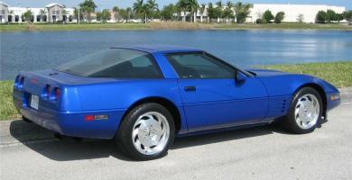 Manual de Usuario CHEVROLET Corvette 1994 en PDF Gratis