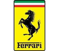 Ferrari autó embléma