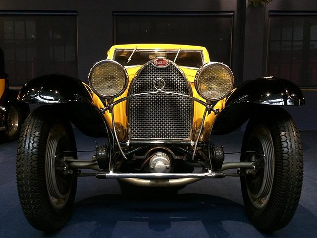 Bugatti autó