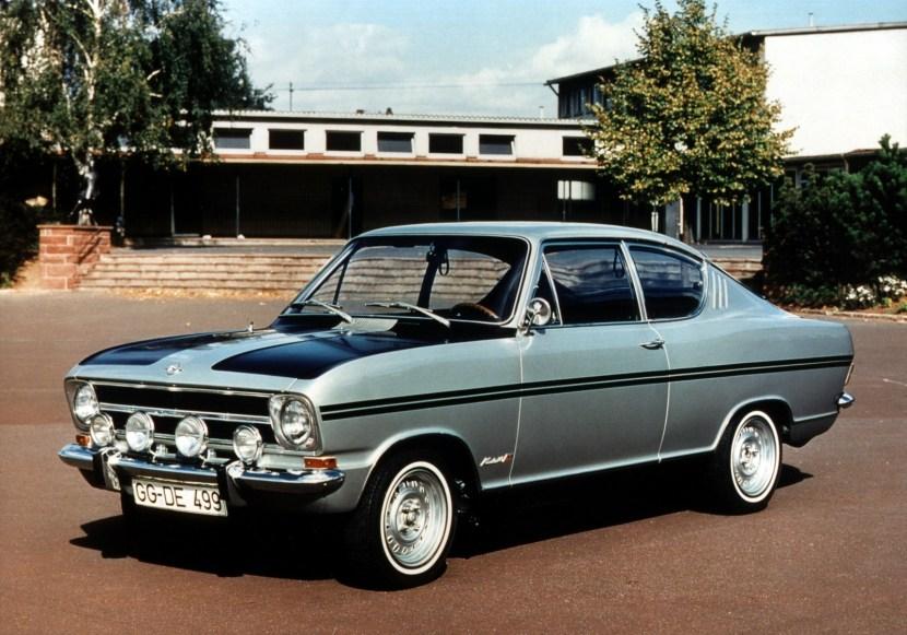 Opel rallye kadett kupé
