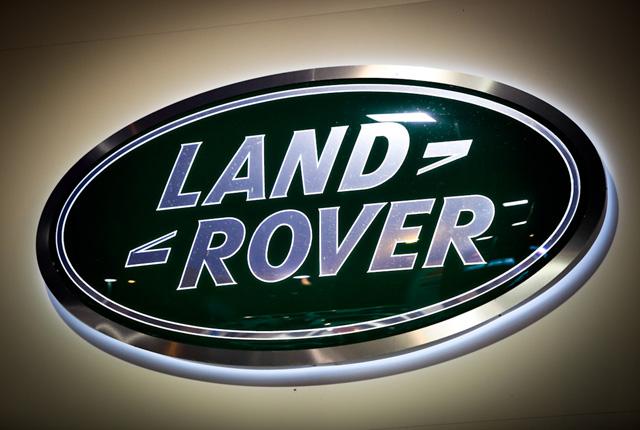 Land Rover autó embléma