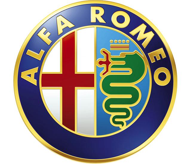 Alfa Romeo lógó, embléma, jel