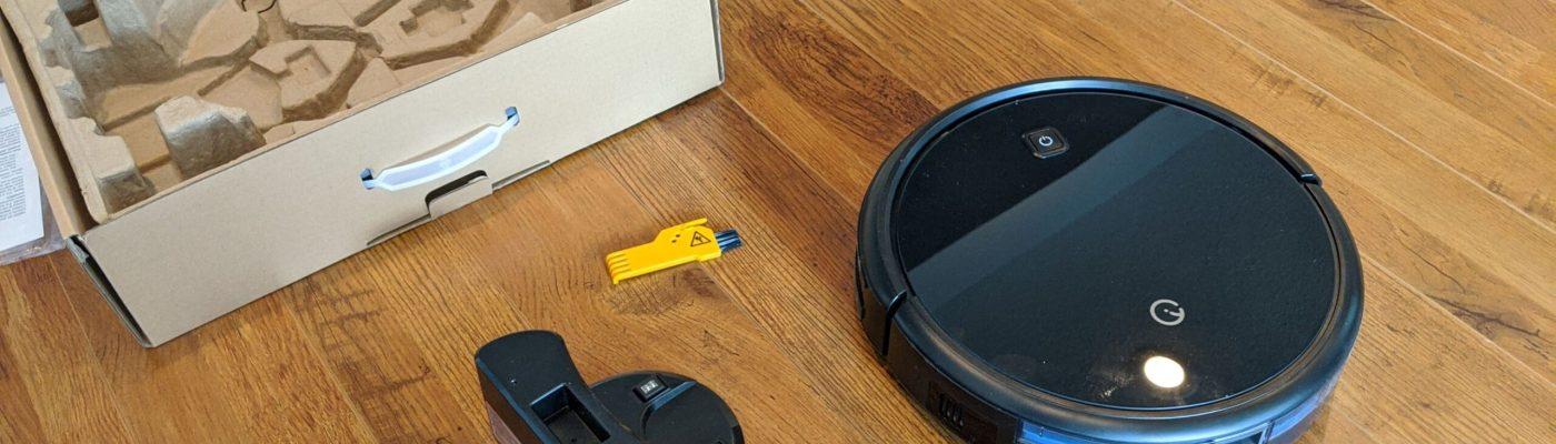 Yeedi K600 Robot Vacuum Cleaner Box Unopened with All Accessories