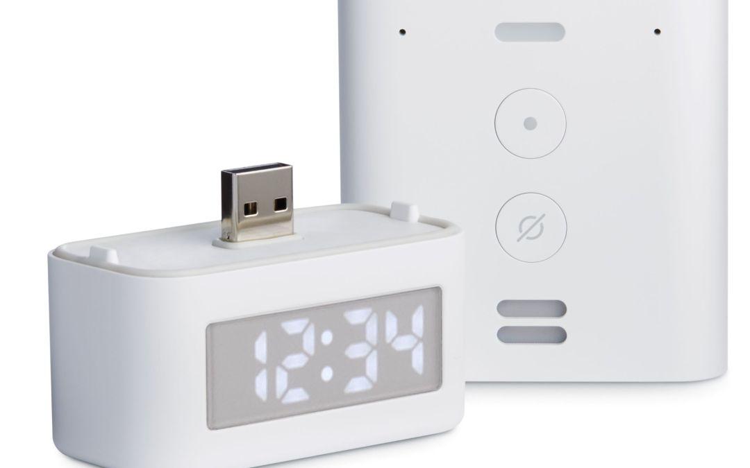 All-New Amazon Smart Clock  Accessory for Echo Flex