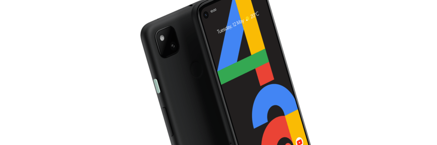 Screenshot of new Pixel 4A from Google Store