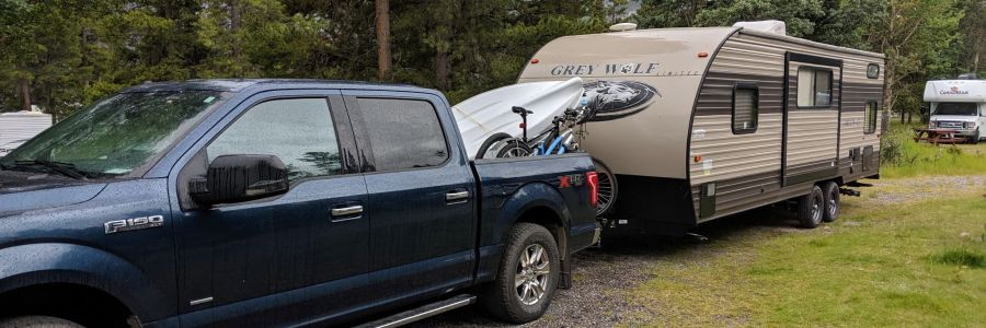 Picture of Truck and RV Trailer