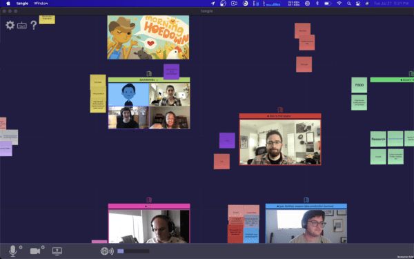 Tangle Online Collaboration
