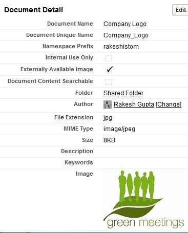 Upload Company logo