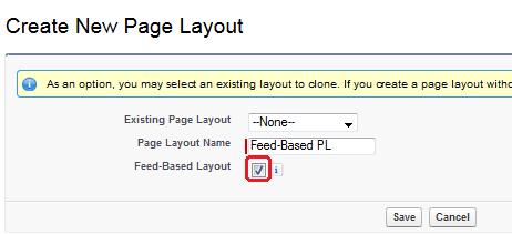 Feed-Based Layout
