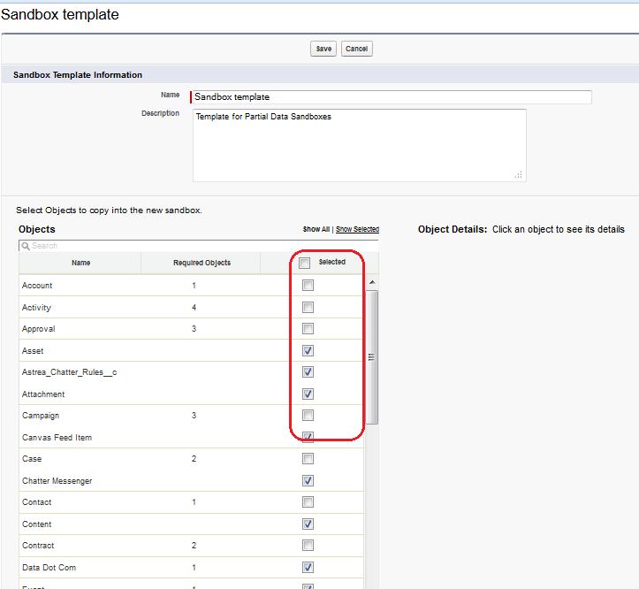 Partial Data Sandbox