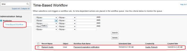 TimeBased Workflow Queue