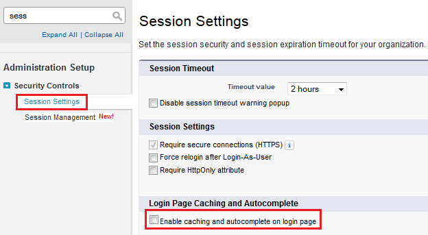 Disable Multiple Username Login Hints Feature