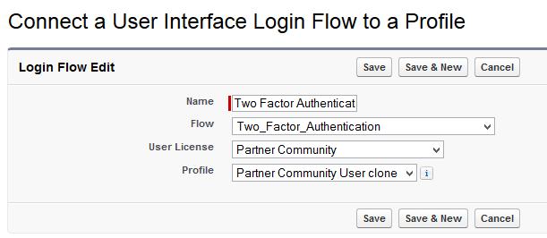 Create a Login Flow