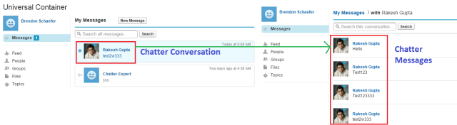 Chatter Conversation