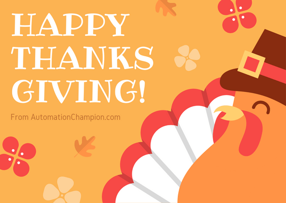 A Thanksgiving message to my Salesforce Ohana!