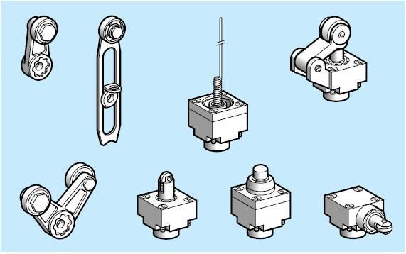 Cabezas de mando de interruptor de proximidad