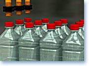 Detector capacitivo para botellas.