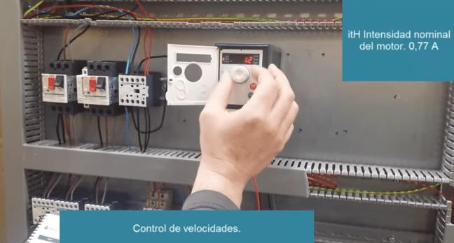 Parámetros convertidor frecuencia