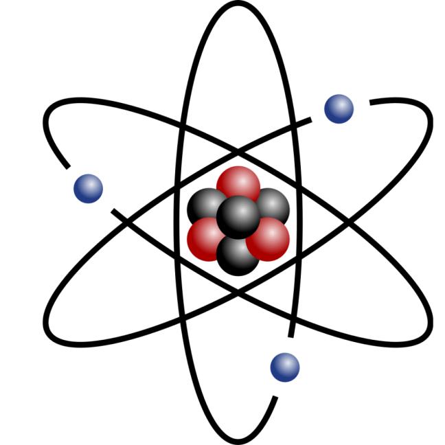 Los electrones responsables de la electricidad.