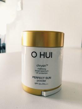O HUI chrysin PERFECT SUN powder SPF 50+
