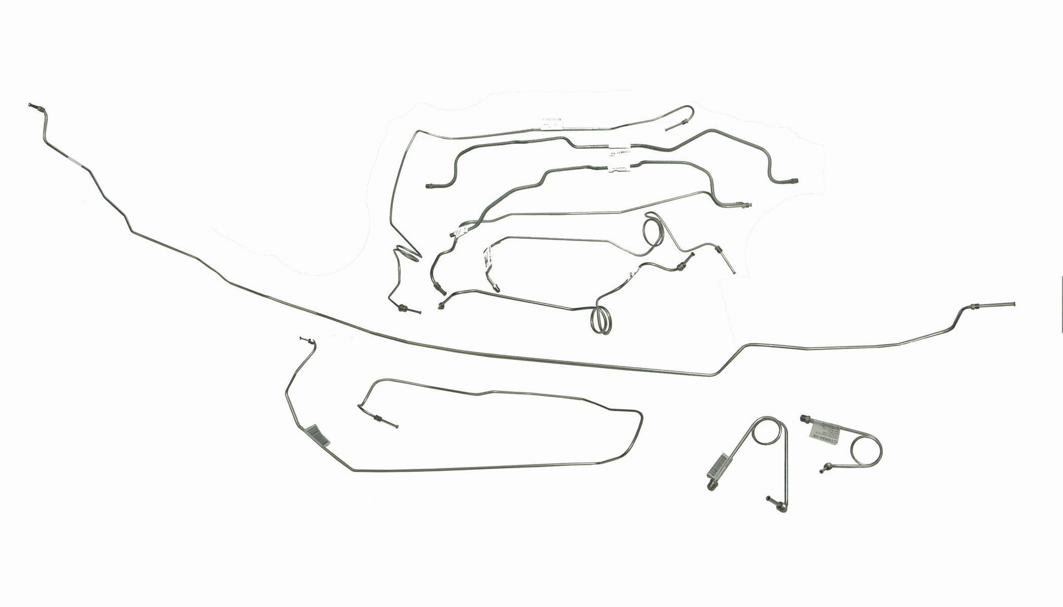 Replacement Brake And Fuel Lines For Gm Gmc 4wd Trucks