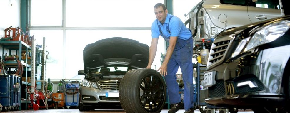 Reifenservice und Räderwechsel bei der Automobile Bolten GmbH