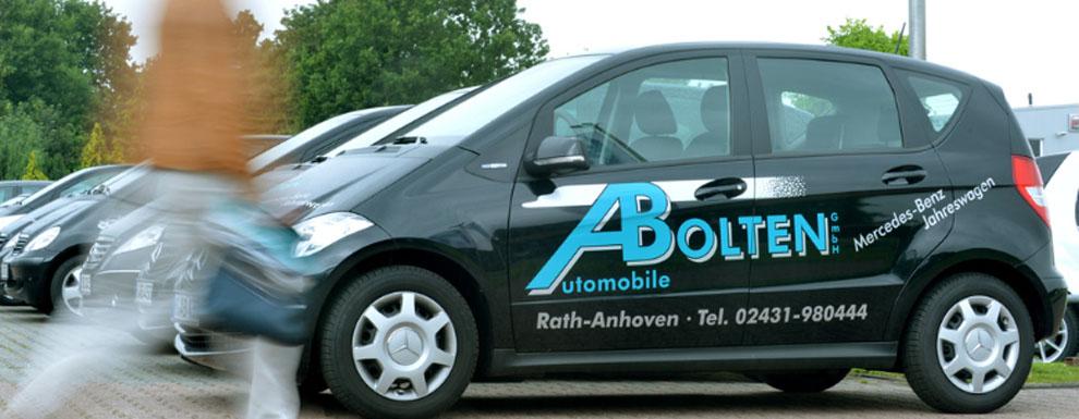 Leihwagen und Autovermietung von Mercedes benz Wagen bei Automobile Bolten GmbH